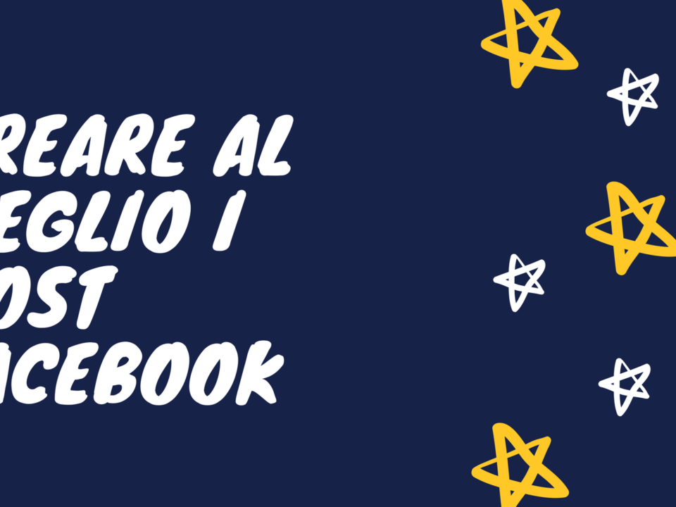 creare al meglio i post di Facebook