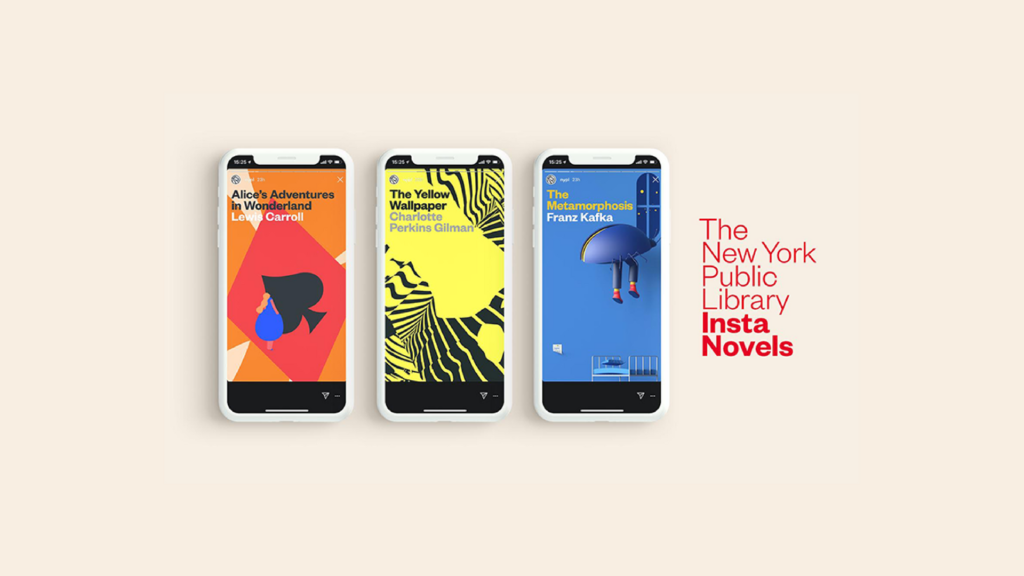 Insta Novels: Bringing Classic Literature to Instagram Stories